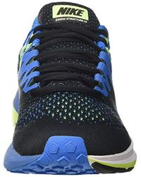 Nike Herren Air Zoom Structure 20 Laufschuhe in Blue für Herren