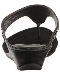 Kenneth Cole Reaction Black Great Leap 4 Wedge Sandal