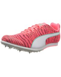 PUMA Pink Erwachsene Evospeed Star 6 Junior Sneaker