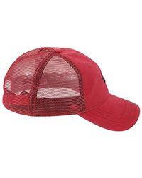 True Religion Red 's Core Logo Trucker Cap Baseball for men