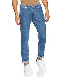 Wrangler Blue Larston Jeans for men