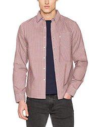 Sunset 1 Pocket Shirt Chemise Casual Homme Levi's pour homme en coloris Pink