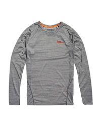 Active Microvent T-Shirt Vapor Grey Marl XXL Superdry pour homme en coloris Gray