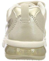 Geox Multicolor Mädchen J SPACECLUB GIRL C Sneaker