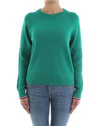 Tommy Hilfiger Green Mable C-nk Swtr Sweatshirt
