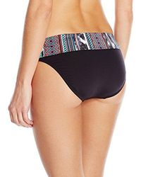 Kenneth Cole Blue Wave Sash Bikini Bottom