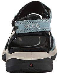 Ecco Black Damen Offroad Sport- & Outdoor Sandalen