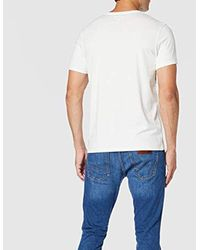 Graphic Logo Tee T-Shirt Uomo di Wrangler in White da Uomo