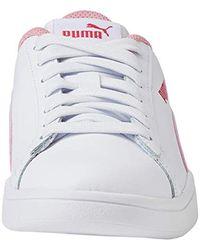 Smash V2 L Jr, Zapatillas Unisex bebé PUMA de color White