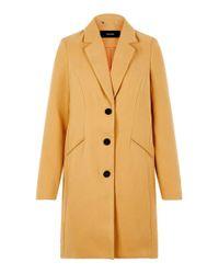 Vmcala Cindy Aw19 3/4 Jacket Boos Giubbotto di Vero Moda in Metallic