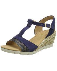 Gabor Blue Shoes 62.841 Plateau