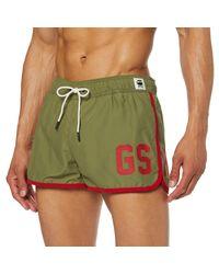 Dend Swimshort Pantalones Cortos G-Star RAW de hombre de color Green