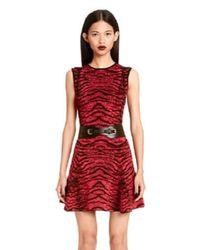 Torn By Ronny Kobo | Purple Malu Tiger Jacquard Dress | Lyst