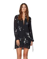Bec & Bridge | Black Elderflower Shift Dress | Lyst