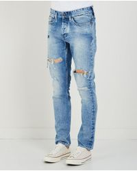 Denham | Blue Razor Jean for Men | Lyst