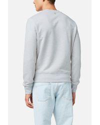 AMI Gray Ami De Coeur Sweatshirt for men