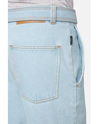 AMI Blue Carrot Fit Jeans for men