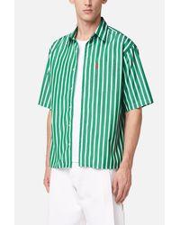 AMI - Green Ami De Coeur Short Sleeve Shirt for Men - Lyst