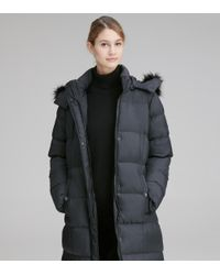 Andrew Marc Black Prudence Quilted Synthetic Down
