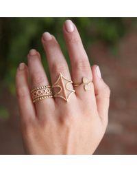 Anne Sisteron - Metallic 14kt White Gold Diamond Electric Ring - Lyst