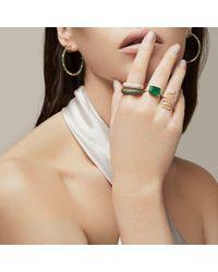 Anne Sisteron Metallic 14kt White Gold Luxe Diamond Square Ring