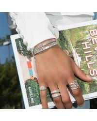 Anne Sisteron Metallic 14kt Rose Gold Diamond Bangle