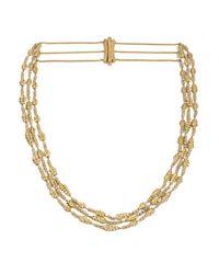 Annoushka - Metallic Vasilisa Layered Necklace - Lyst
