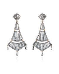 Annoushka - Metallic Flamenco Diamond Earrings - Lyst