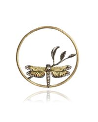 Annoushka - Metallic Hoopla Dragonfly Diamond Pendant - Lyst