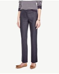 Ann Taylor | Blue The Ankle Pant In Refined Denim - Kate Fit | Lyst