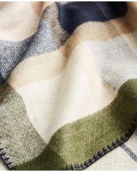 Ann Taylor - Multicolor Reversible Plaid Cape - Lyst