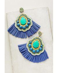 Beavaldes - Blue Tamarind Drop Earrings - Lyst
