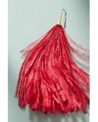 Serefina - Red Winona Drop Earrings - Lyst