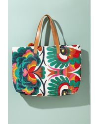 Star Mela Multicolor Aminita Tote Bag
