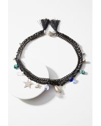 Venessa Arizaga | Black Wishing Star Necklace | Lyst