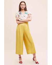 Pantalon court à jambes amples Yasmina Seen, Worn, Kept en coloris Yellow