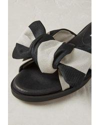 Anthropologie Black Yaelis Sandals