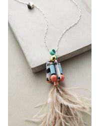Nocturne - Metallic Cassowary Pendant Necklace - Lyst
