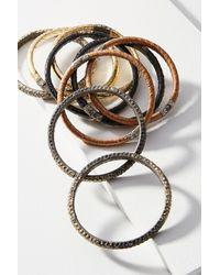 KMO Paris - Brown Alma Bracelet Set - Lyst