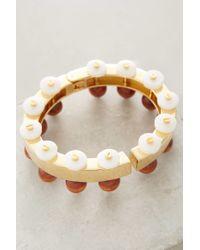 Lele Sadoughi - Metallic Pearl Works Bracelet - Lyst