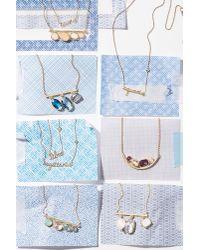 Anthropologie - Multicolor Astrologer Necklace - Lyst