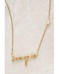 Anthropologie   Natural Astrologer Necklace   Lyst