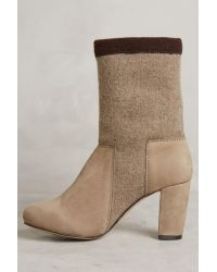 All Black - Multicolor Rollover Collar Booties - Lyst