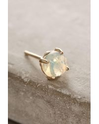 Suzanne Kalan - Natural 14k Gold Round Stud Earrings - Lyst