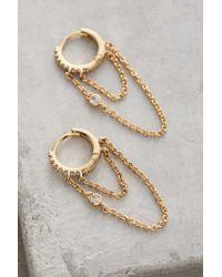 Anthropologie - Metallic Missande Earrings - Lyst