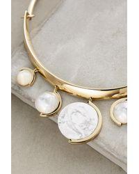 Sarah Magid | Metallic Blanca Collar Necklace | Lyst