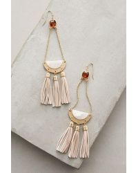 Anthropologie - Multicolor Blushdrop Earrings - Lyst