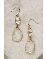 Anthropologie | White Reflection Drops | Lyst