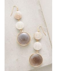 Anthropologie - Gray Eventide Agate Drops - Lyst