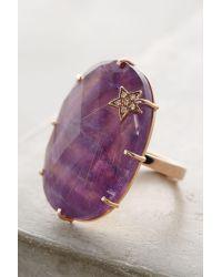 Andrea Fohrman   Metallic Amethyst Annular Ring   Lyst